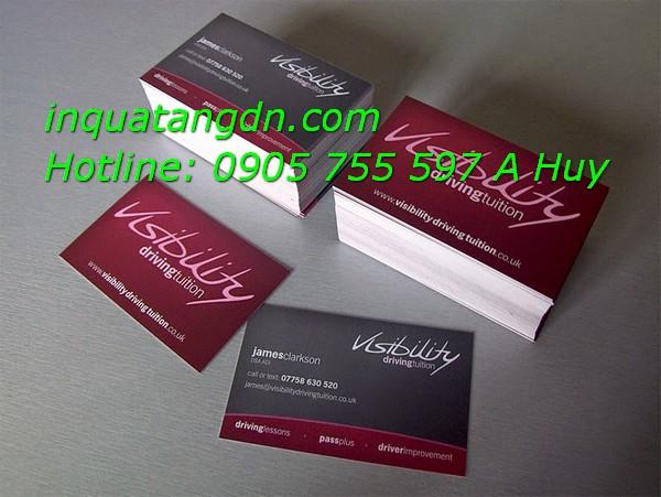 In Name Card Visit Tại Đà Nẵng Giá Rẻ Danh Thiếp Đẹp 0905755597