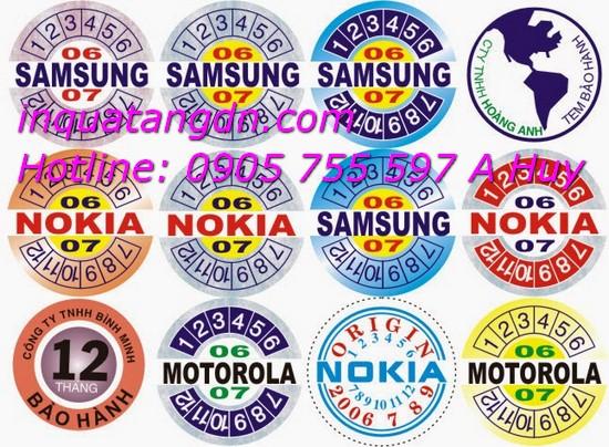In tem bảo hành tại đà nẵng giá rẻ in nhanh 247 LH 0905 755 597 Mr Huy