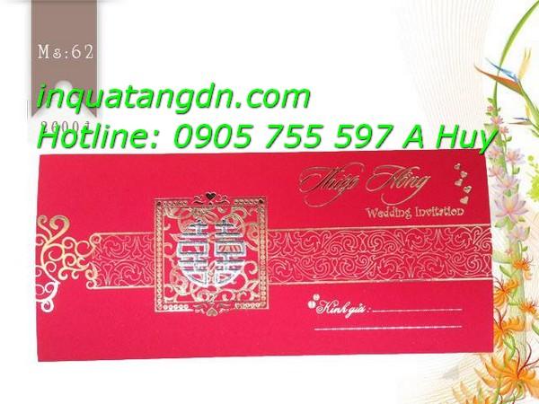 In thiệp cưới giá rẻ thiệp mời nhà mới sinh nhật 0905755597