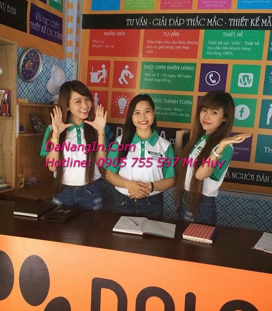 Làm đồng phục nhân viên lớp tại đà nẵng LH 0905 755 597 Mr Huy