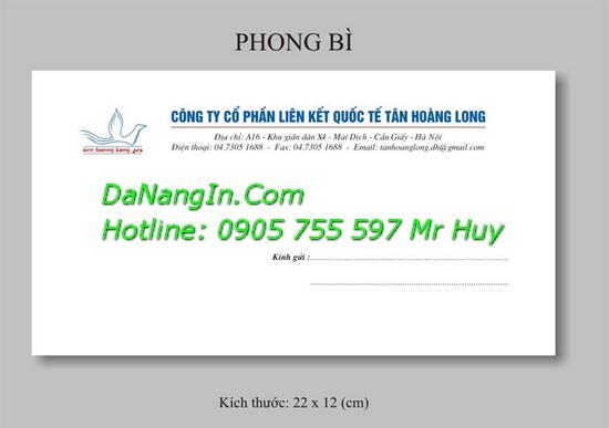 In Bì Thư Tại Đà Nẵng In Giá Rẻ Lấy Nhanh 0905 755 597 A Huy
