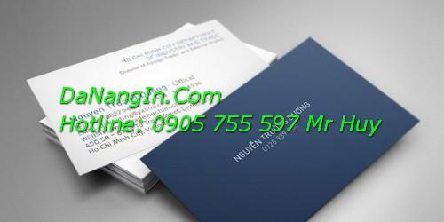 In danh thiếp name card visit tại đà nẵng Lh 0905 755 597 Mr Huy