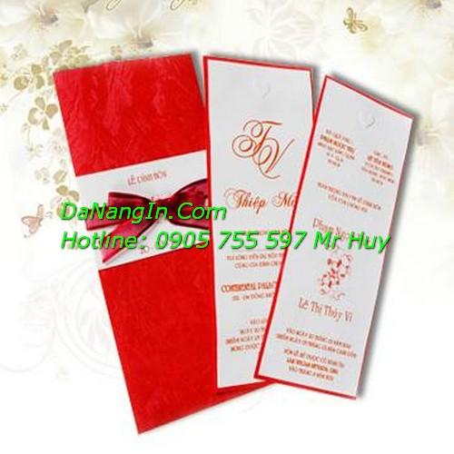 Thiệp Cưới Ở Đà Nẵng Giá Rẻ Nhất Lấy Gấp LH 0905 755 597 Mr Huy