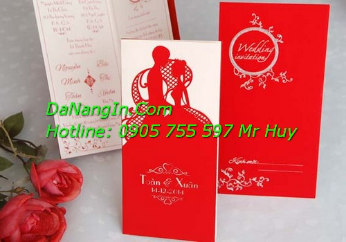 Chuyên in thiệp cưới tại đà nẵng lấy nhanh giá rẻ LH 0905 755 597 Mr Huy