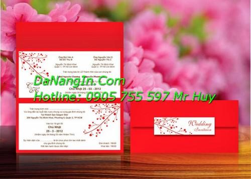 Thiệp cưới đà nẵng giá rẻ nhanh đẹp uy tín chuyên nghiệp Lh 0905 755 597 Mr Huy