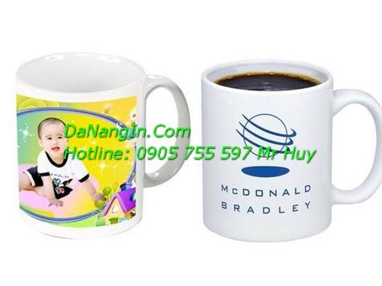 In hình lên ly sứ cốc thủy tinh logo quà tặng đà nẵng LH 0905 755 597 Mr Huy