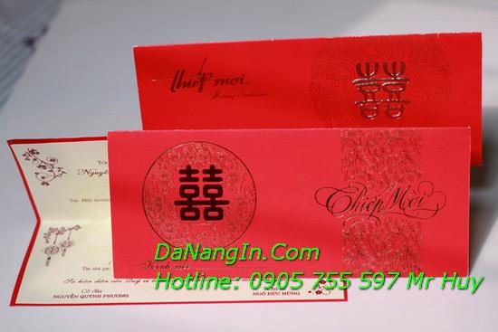 In Thiệp Mời Theo Yêu Cầu Thiệp Cưới Lấy Gấp Rẻ LH 0905 577 597 Mr Huy
