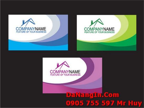 Danh Thiếp Name card tại đà nẵng in ấn