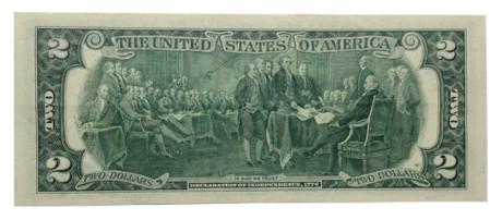 Vì sao nhiều người thích tờ 2 đô la 1967 mỹ