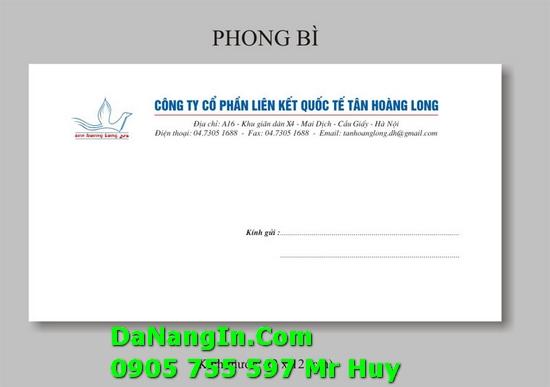 In bao thư bì thư công ty tại đà nẵng lấy nhanh giá rẻ 247
