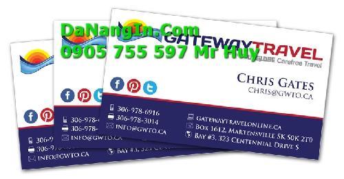 Địa chỉ in card visit name danh thiếp tại Đà Nẵng giá rẻ