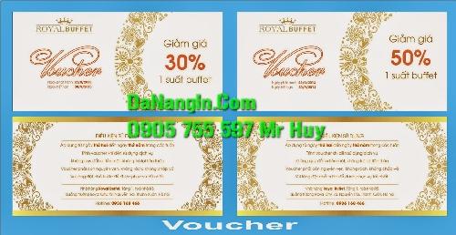 In voucher thẻ giám giá sản phẩm theo yêu cầu khách hàng 0905 755 597