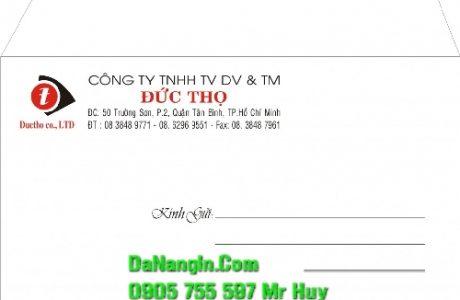 In bì thư logo công ty lấy gấp tại đà nẵng báo giá rẻ nhất