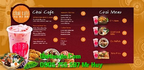 thiết kế menu cafe nhà hàng quán nhậu trà sữa tại đà nẵng
