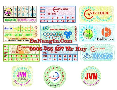 in tem bảo hành tem vỡ tại đà nẵng liên chiểu giá rẻ nhất