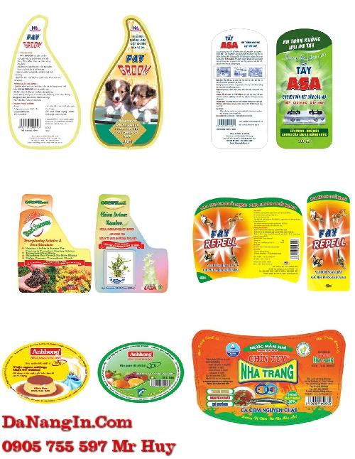In tem nhãn dán sản phẩm tại đà nẵng giá rẻ 0905 755 597 Mr Huy