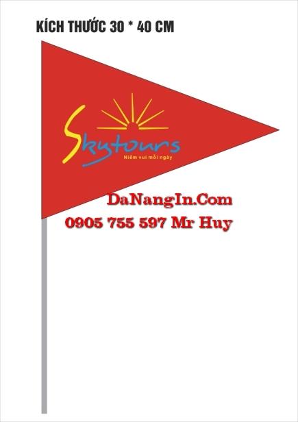In cờ tour du lịch lấy gấp giá rẻ nhanh theo yêu cầu