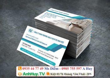 Làm card visit tại Đà Nẵng