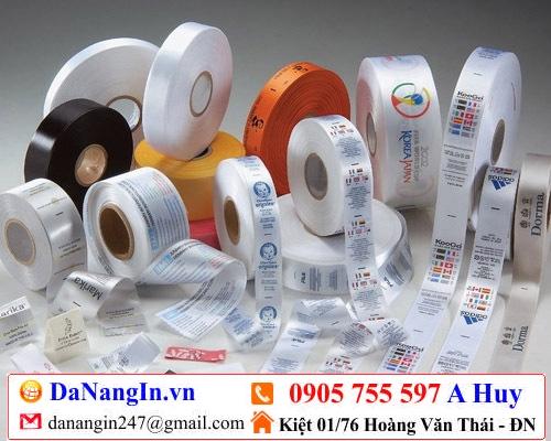 in nhãn mác chai lọ dán lên sản phẩm handmade 0905 755 597 A Huy - danangin.vn
