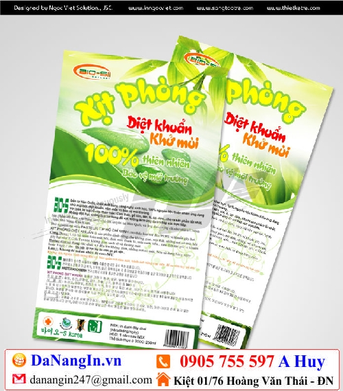 in nhãn mác decal dán lên sản phẩm handmade,lh 0905 755 597 A Huy - danangin.vn,in nhãn son,bột trà xanh,nhãn spa,in đồng phục logo áo,in lụa,in menu gấp 24