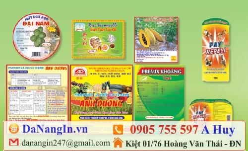 in nhãn mác lột dán sản phẩm handmade,0905 755 597 A Huy - danangin.vn,in logo lên decal dán lên sản phẩm,in tem bảo hành,in voucher cafe nhà hàng tiệc cưới