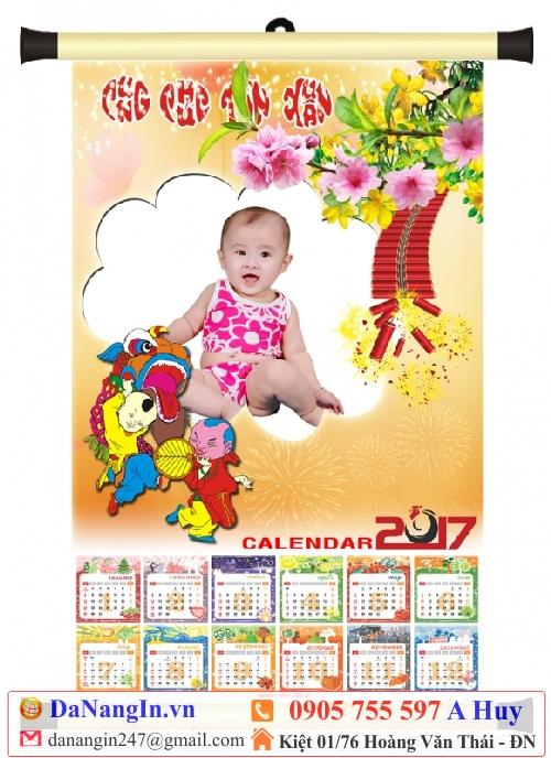 làm lịch cho bé 2017 đinh dậu tết tại đà nẵng,0905 755 597 A Huy - danangin.vn,làm lịch cho con,lịch cho bé theo yêu cấu 1 tờ,in lịch tết số lượng it,lich gia đình