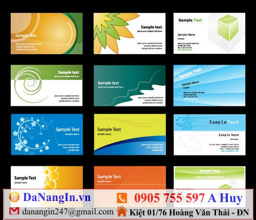 in name card tại đà nẵng 0905 755 597 A Huy danangin.vn