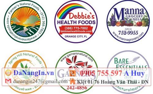nhãn dán decal handmade lột dán lên sản phẩm 0905 755 597 A Huy
