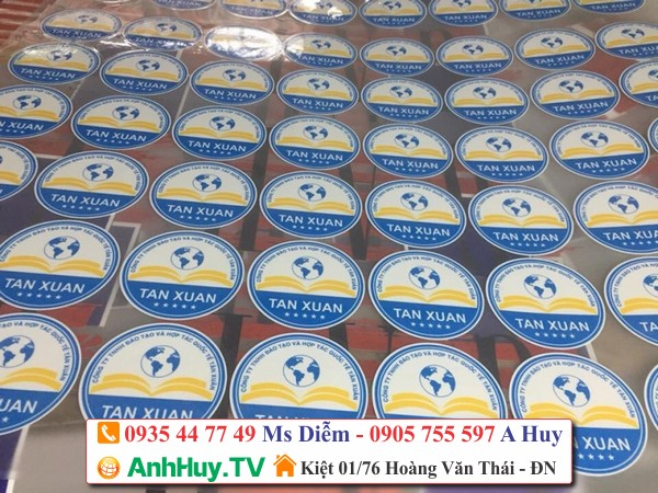 IN DECAL TEM NHÃN DÁN STICKER ĐÀ NẴNG 0935447749 ANHHUY.TV