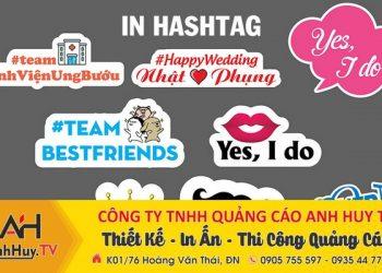 Địa chỉ làm Hashtag cầm tay đẹp tại Đà Nẵng giá rẻ